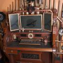 Steampunk radio